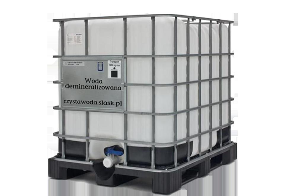 1000 L Wody demineralizowanej na sprzedaż