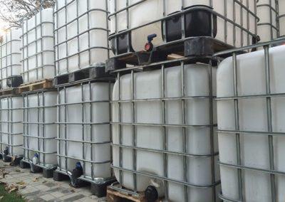 Zbiorniki na wodę demineralizowaną