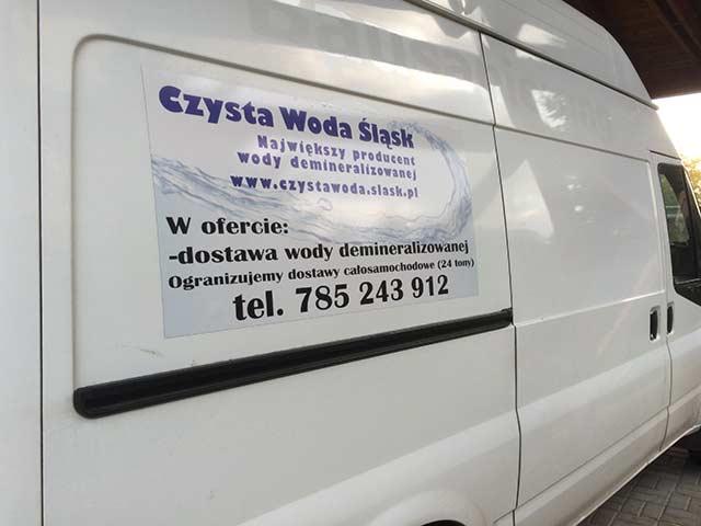 Błyskawiczna dostawa wody demineralizowanej